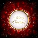 Fundo brilhante do Natal Fotografia de Stock Royalty Free