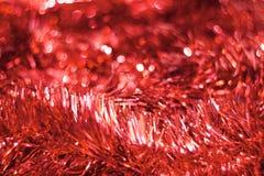 Fundo brilhante do Natal: Vermelho Imagem conservada em estoque Imagem de Stock