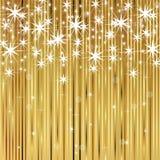 Fundo brilhante do ouro Foto de Stock