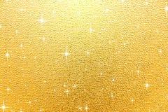 Fundo brilhante do ouro Fotografia de Stock