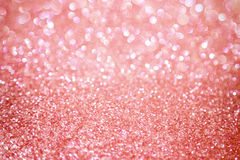 Fundo brilhante do ouro de Rosa Imagens de Stock