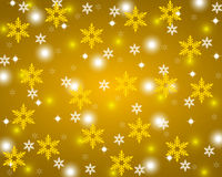 Fundo brilhante do ouro do Natal Foto de Stock Royalty Free