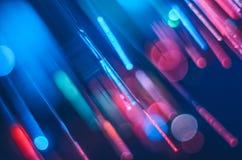 Fundo brilhante e colorido do conceito da fibra de vidro fotografia de stock