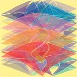 Fundo brilhante transparente da cor ilustração stock