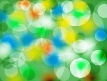 Fundo Círculos coloridos Foto de Stock