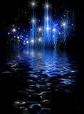 Fundo cósmico abstrato do feriado ilustração royalty free