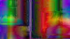 Fundo cúbico abstrato de prisma Imagens de Stock