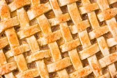 Fundo caseiro da torta de maçã fotos de stock