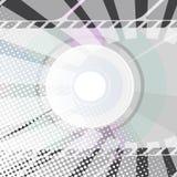 Fundo CD abstrato Imagens de Stock
