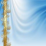 Fundo celestial abstrato ilustração royalty free