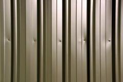 Fundo - cerco verde do metal Foto de Stock
