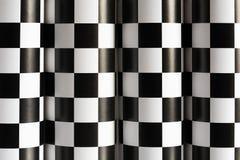 Fundo Checkered Imagens de Stock Royalty Free