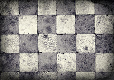 Fundo Checkered de Grunge Fotos de Stock Royalty Free