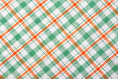 Fundo Checkered de matéria têxtil Foto de Stock