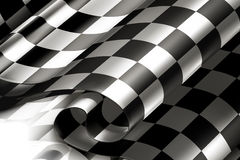 Fundo Checkered horizontal Imagem de Stock