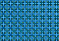 Fundo Chequered azul Imagens de Stock