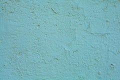 Fundo cian velho da parede das texturas Fundo perfeito com espa?o fotografia de stock