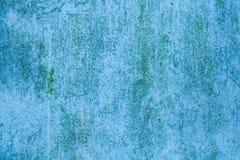Fundo cian velho da parede das texturas Fundo perfeito com espa?o foto de stock
