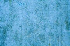 Fundo cian velho da parede das texturas Fundo perfeito com espa?o imagens de stock