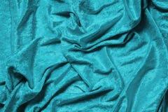 Fundo ciano azul ou de turquesa de veludo foto de stock