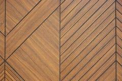 Fundo cinzelado de madeira da textura do teste padrão de Brown imagem de stock