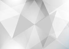 Fundo cinzento abstrato Imagens de Stock