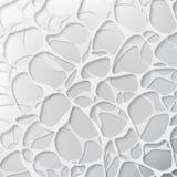 Fundo cinzento abstrato da superfície da água ilustração stock
