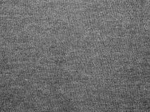 Fundo cinzento abstrato da textura da tela Imagens de Stock