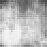 Fundo cinzento abstrato do pixel Imagens de Stock
