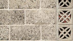 Fundo cinzento clássico velho da textura da parede do estilo chinês do tijolo fotografia de stock royalty free