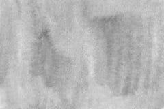 Fundo cinzento da aquarela pronto para imprimir a textura grande do fundo Foto de Stock Royalty Free