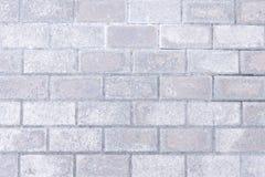 Fundo cinzento da parede de tijolo fotografia de stock royalty free