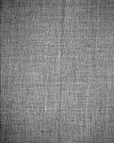 Fundo cinzento da textura da lona e vinheta subtil Imagem de Stock Royalty Free