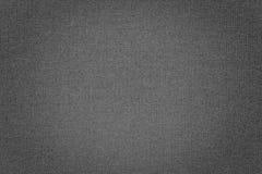 Fundo cinzento da textura da tela Imagens de Stock Royalty Free
