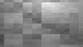 Fundo cinzento da textura da telha 3D rendido ilustração royalty free