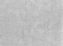 Fundo cinzento das texturas da tela fotografia de stock