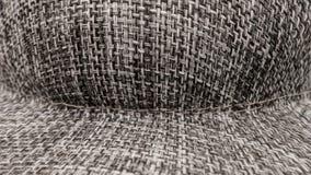Fundo cinzento do sumário da textura do chapéu Fotografia de Stock Royalty Free