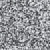 Fundo cinzento do teste padrão da verificação do mosaico de Pixelated ilustração royalty free