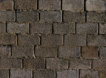 Fundo cinzento dos blocos de cimento Foto de Stock