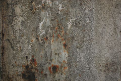 Fundo cinzento envelhecido obscuridade da textura da parede da oxidação Fotos de Stock