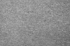 fundo cinzento monocromático da textura do tapete de cima de fotos de stock royalty free