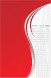 Fundo cinzento vermelho do sampletext Ilustração Royalty Free