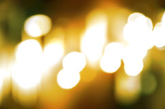 Fundo circular abstrato Christmaslight do bokeh Foto de Stock