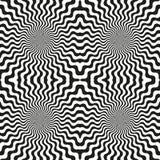 Fundo circular abstrato dos testes padrões ilustração stock