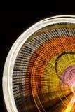 Fundo circular do carrossel Exposição longa Nenhuns povos fotos de stock royalty free