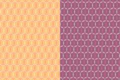 Fundo circular do teste padrão de três cores fotografia de stock