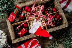 Fundo clássico do Natal foto de stock royalty free