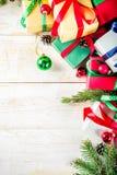 Fundo clássico do Natal fotos de stock
