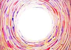 Fundo claro abstrato Concêntrica, espiral, torcendo, a escova de giro afaga linhas com espaço para seu texto Fotos de Stock Royalty Free