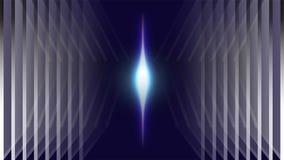 Fundo claro azul de néon do sumário do espaço Foto de Stock Royalty Free
